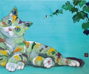 梨水/ペットの肖像画