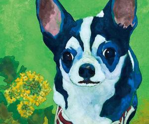 抽選であなたのペットの肖像画をプレゼント!