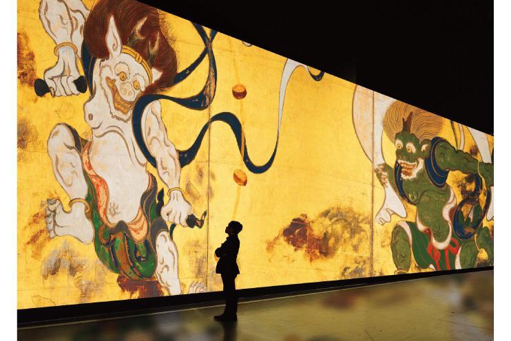 『巨大映像で迫る五大絵師』<br />− 北斎・広重・宗達・光琳・若冲の世界 −